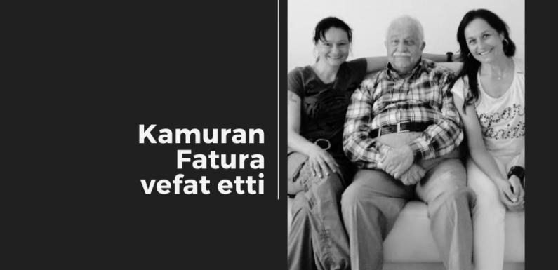 FATURA Ailesinin Acı Günü…