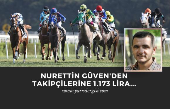 Nurettin Güven'den 1.173 liralık İstanbul Altılısı…