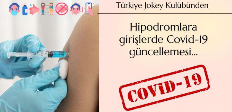 TJK'dan Hipodromlara girişlerde Covid-19 güncellemesi