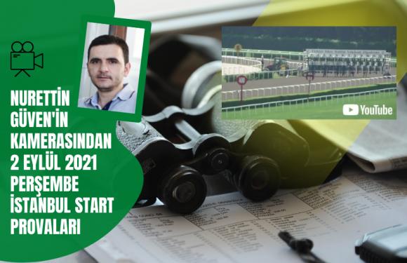 2 Eylül 2021 Perşembe İstanbul Start Provaları