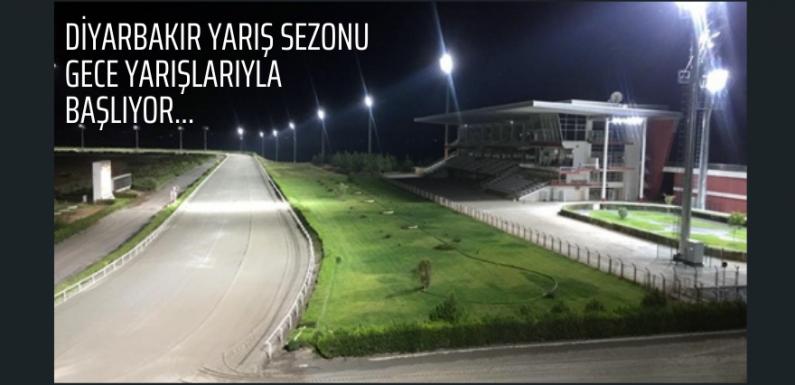 Diyarbakır Yarış Sezonu Gece Yarışlarıyla başlıyor…