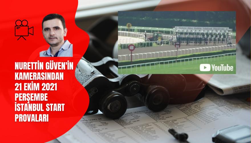 21 Ekim 2021 Perşembe İstanbul Start Provaları © 2021